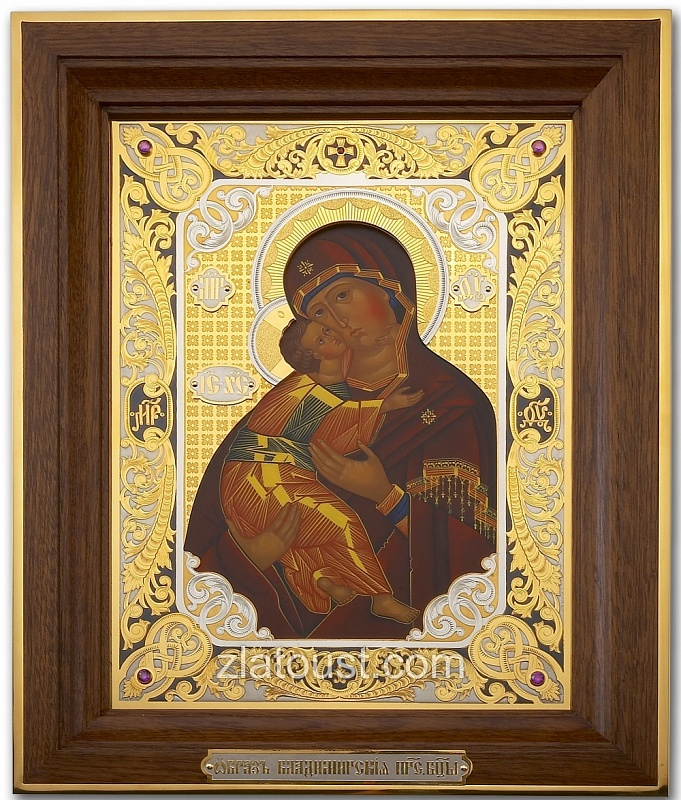 The Image Of The Blessed Virgin Of Vladimir